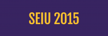 Service Employees International Union (SEIU) 2015