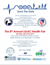 8th Annual LULAC / Flying Doctors Community Health Fair